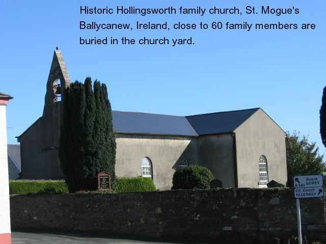 Hollingsworth Family History